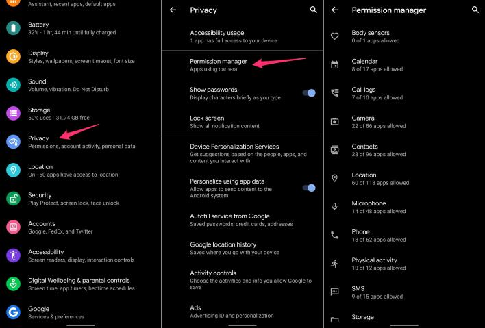 android-10-privacy-permissions