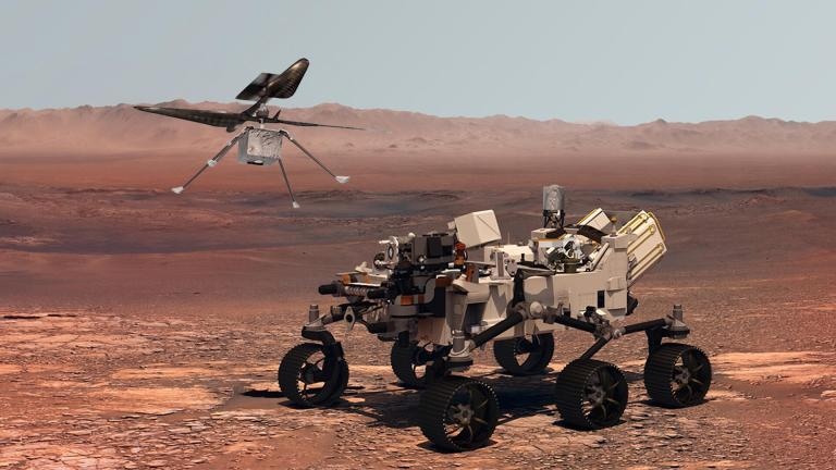 Watch NASA Ingenuity Mars helicopter alive and effectively and hopping after its trip – Google Science News