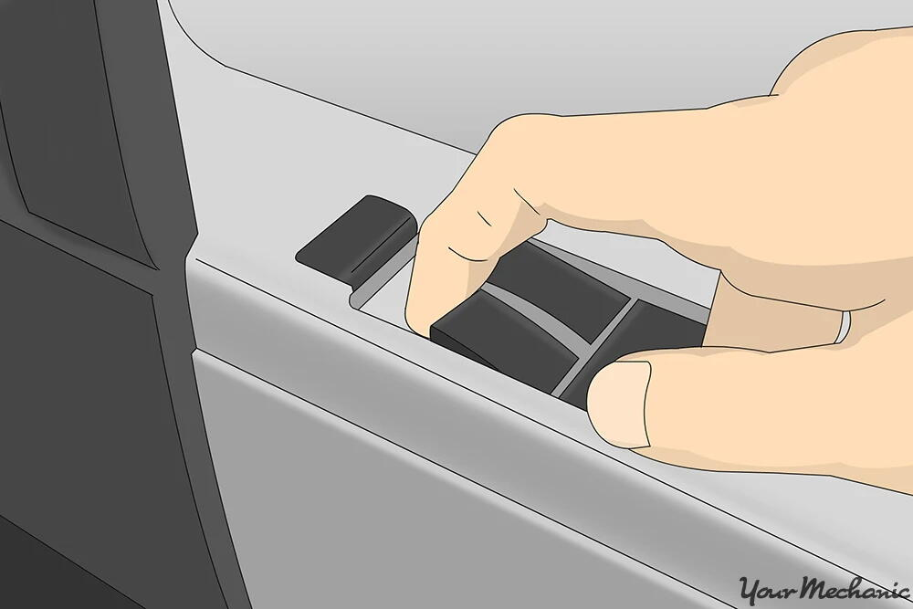 Pull up power window switch