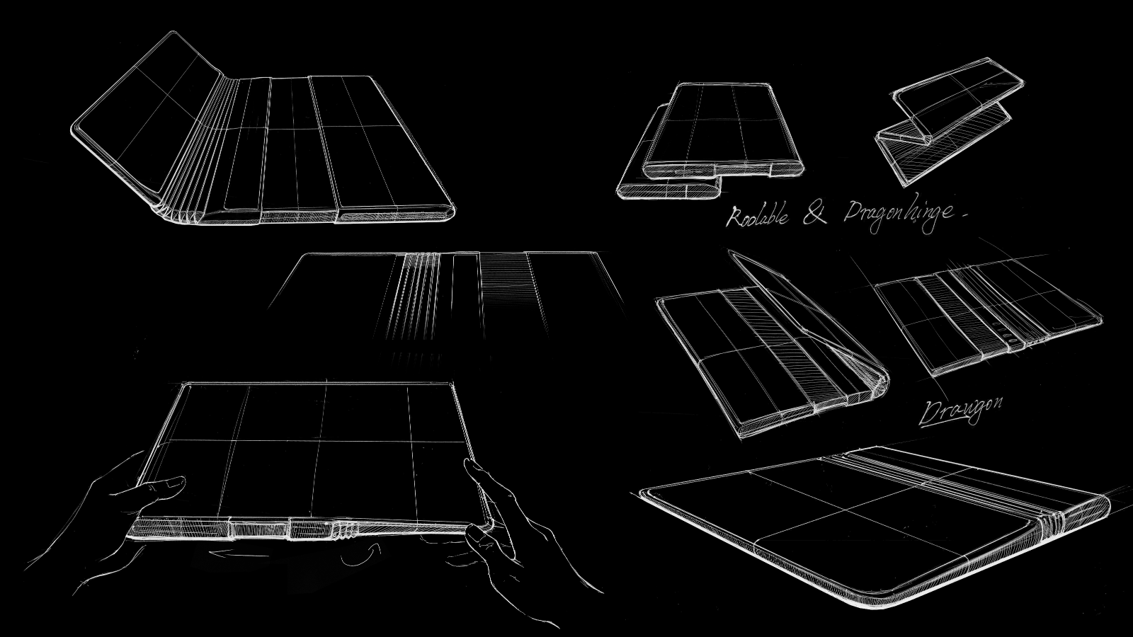 TCL rollable foldable device