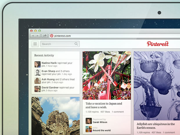 Pinterest teste sa nouvelle interface
