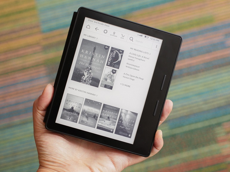 Amazon annonce sa nouvelle liseuse  la Kindle Oasis   CNET France Amazon annonce sa nouvelle liseuse  la Kindle Oasis