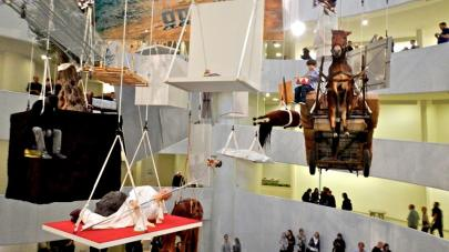 Une exposition déjantée en 2011