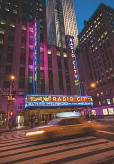 Radio City Music Hall. (Photo Antoine Lanne)