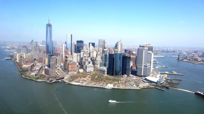 Cap sur le Financial District et la One World Trade Center