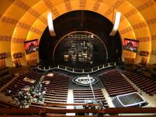 Salle du Radio City Music Hall. (Photo Franc Bonduau)