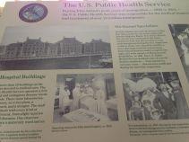 De nombreux panneaux racontent l'Histoire d'Ellis Island