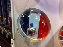 Un M&M's aux couleurs françaises