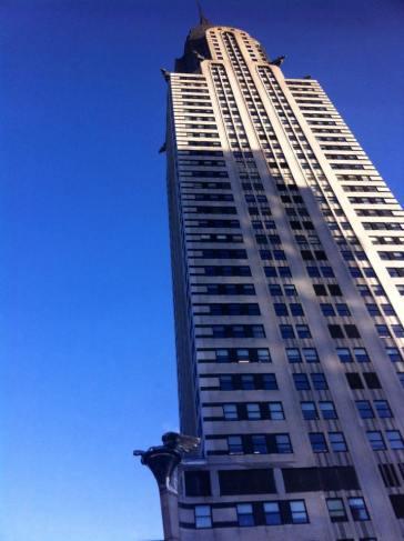 Au pied du Chrysler building