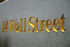 Dans Wall Street, même les numéros sont dorés