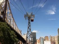 Le téléphérique vu depuis Roosevelt Island