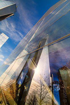 Reflet de la One World Trade Center