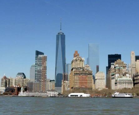 La One World Trade Center et la Financial District