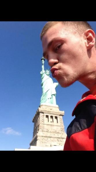 Madjid est tombé amoureux de Miss Liberty !
