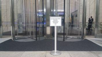 L'entrée du One World Observatory. (Photo Smain Stanley)