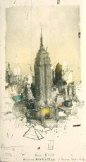 L'Empire State building par Alexander Befelein.