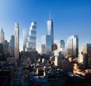 La nouvelle skyline du Financial District. (Photo BIG)