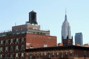 Gros plans sur l'Empire State building. (Photo Daniel Beyly)