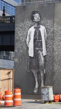 Les fresques de la High Line. (Photo Laurence Bajeux)