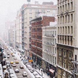 New York sous la neige