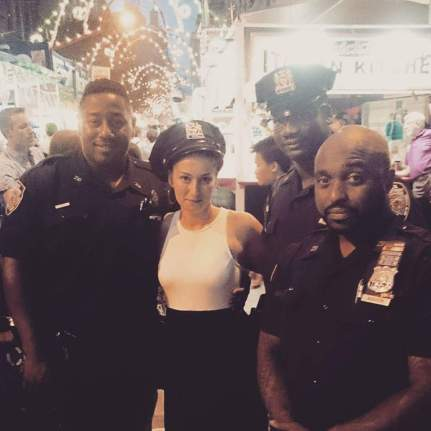 policiers new york