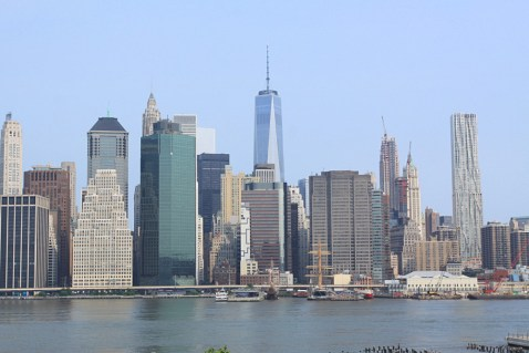 Le Financial District depuis Brooklyn