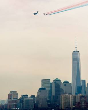 La patrouille et la One World Trade Center