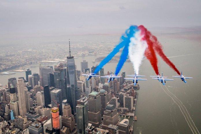 patrouille de France New York