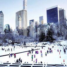 neige new york