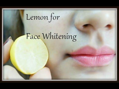 How to Whiten Skin with Lemon