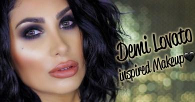 Demi Lovato Inspired Makeup Tutorial