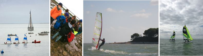 Stages de voile