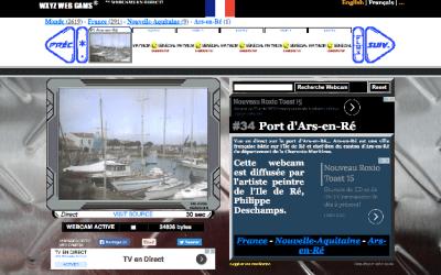 La webcam du Port d'Ars en Ré