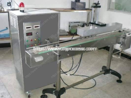 Aluminum foils induction sealing machine