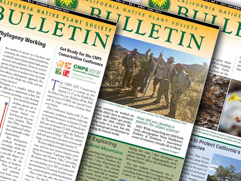 CNPS Bulletin