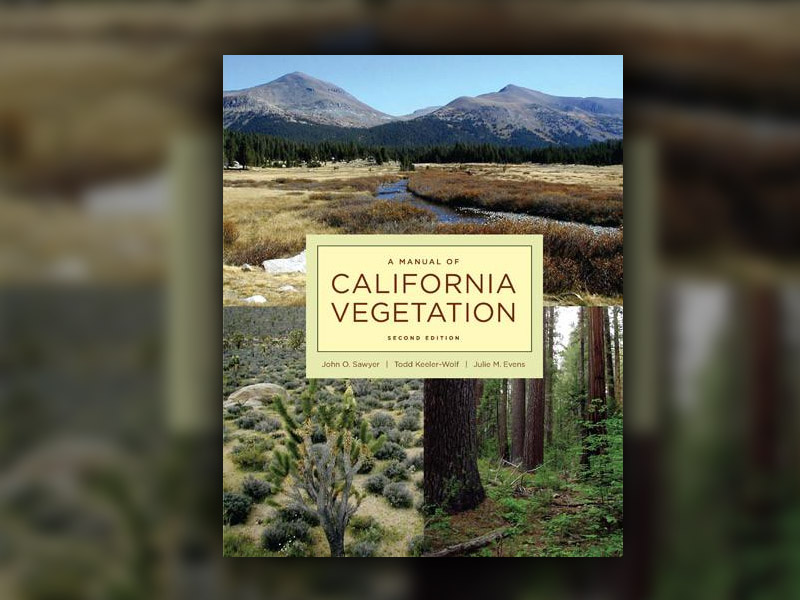Manual of California Vegetation