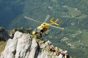 Sbarco elicottero cresta