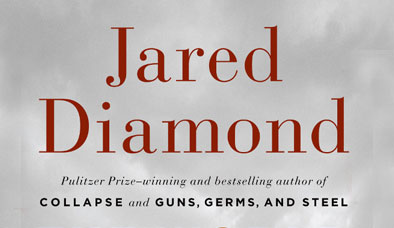 Cover of Jared Diamond's book The World Until Yesterday
