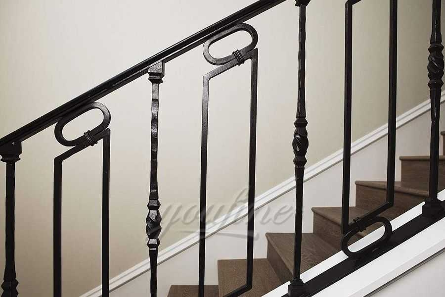 Outdoor Metal Wrought Iron Stair Railings You Fine Sculpture | Outdoor Iron Stair Railing | Garden | Flat Iron | Decorative | Deck | Rustic