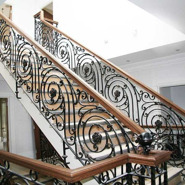 Wrought Iron Railing Cost You Fine Sculpture | Wrought Iron Stair Railings Interior Cost | Wood | Cast Iron Spindles | Stair Spindles | Staircase Ideas | Iron Staircase Railings