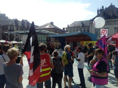 Laura Pfeiffer 14 septembre 2016 Chambéry rassemblement Tribunal