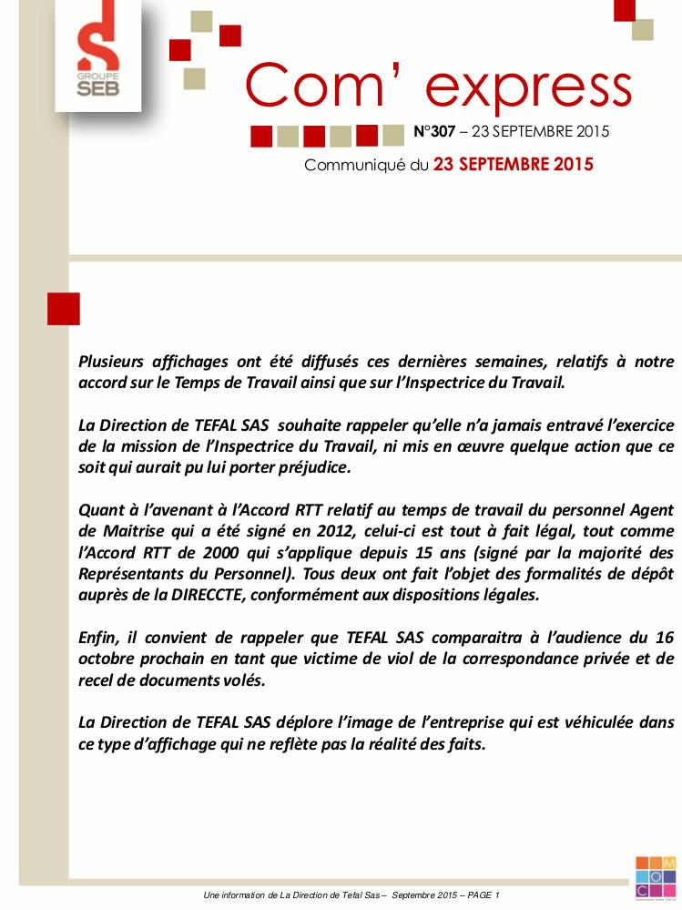 communiqué-Téfal-16-octobre-2015