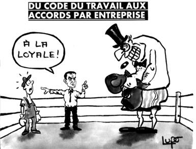 reforme code du travail accords entreprise
