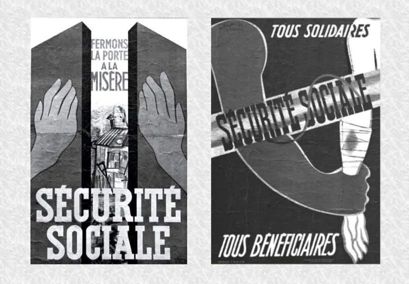 securite sociale CNT - fermons la porte a la misere - tous solidaires tous beneficiaires