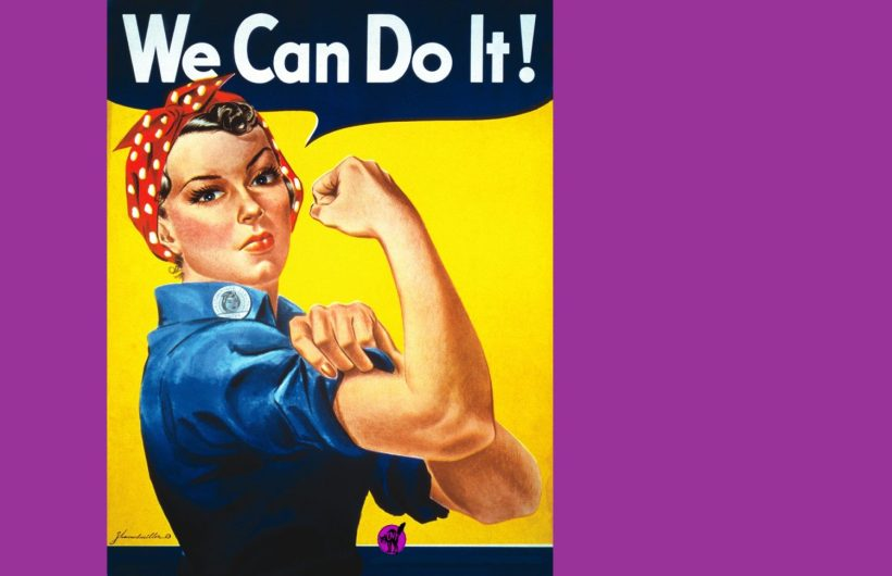 We_Can_Do_It 8 mars CNT feminisme
