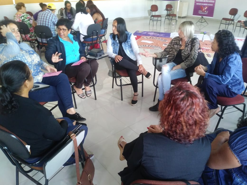Atividade contou com participação das dirigentes e trabalhadores/as de base