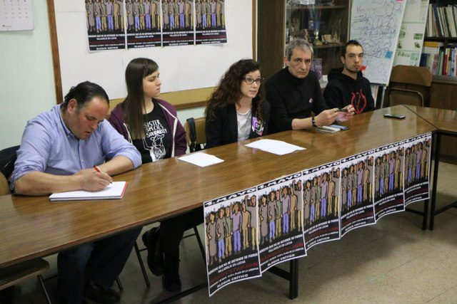 Rueda de prensa Primero de Mayo Combativo: Valladolid en Lucha