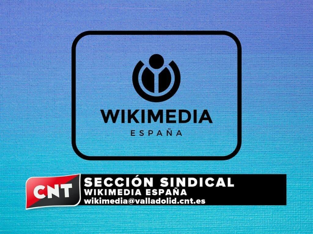 CNT constituye sección sindical en Wikimedia España