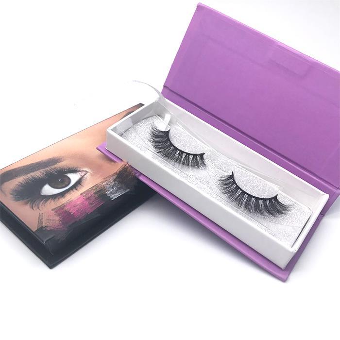 Custom Eyelash Box With Magnet Private Label Eyelash