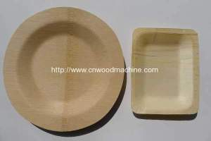 Disposable Wooden Cutlery Service Plate Production Line